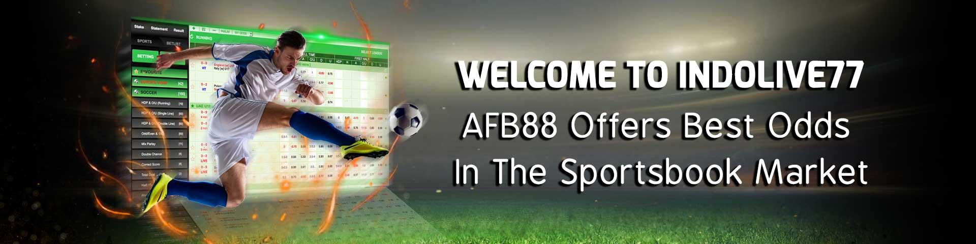 Situs Taruhan Judi Agen & Bandar Bola Online Terpercaya AFB88